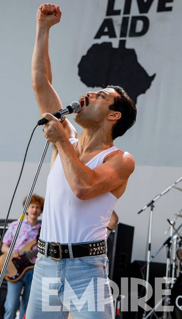 [#CinemaCon] New Bohemian Rhapsody Images Show Live Aid and More