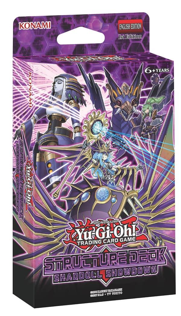 "Konami Reveals ""Yu-Gi-Oh!"" TCG – Structure Deck: Shaddoll Showdown"