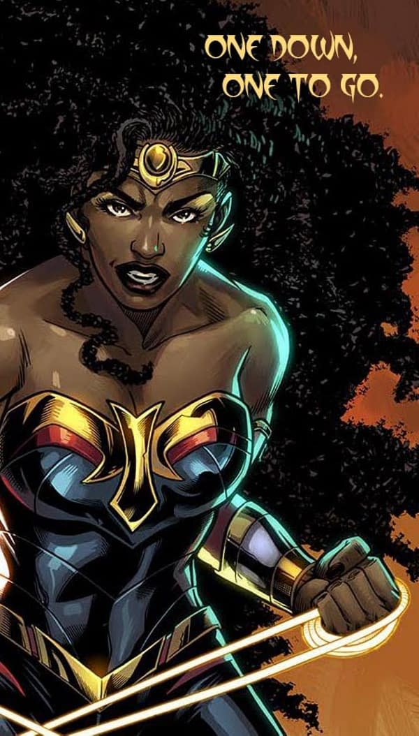 """One Down One To Go"" -  Wonder Woman's Nubia Returns For Future State"