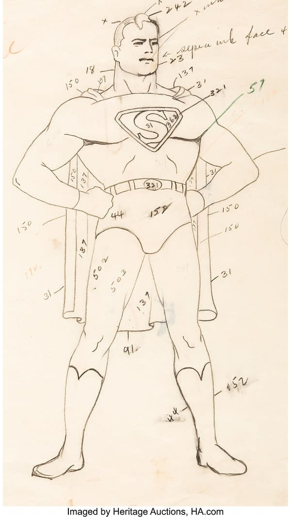 Largest Fleischer Brothers Superman Auction Ever, This December