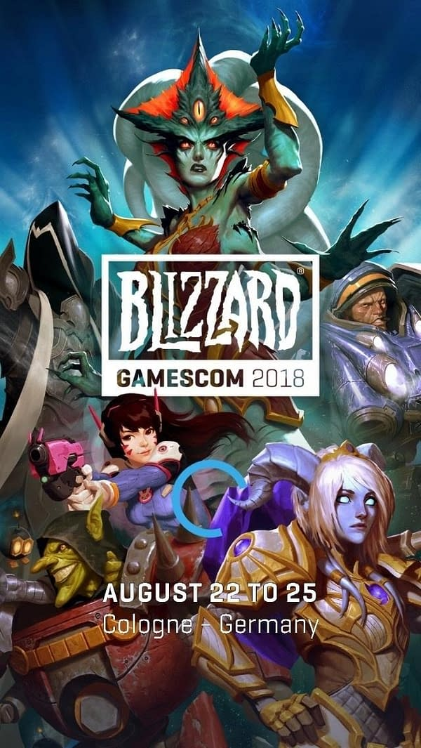 Blizzard's Schedule for Gamescom 2018 Has Been Revealed