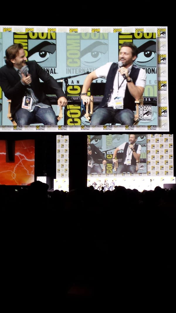 Kansas Rocks The 'Supernatural' Panel Stage With Carry On Wayward Son
