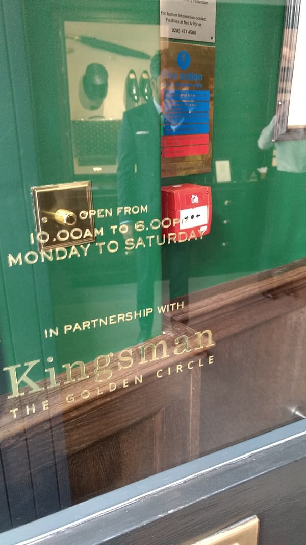 The Kingsman Shop Opens In London, For The Golden Circle, And You Can Visit.
