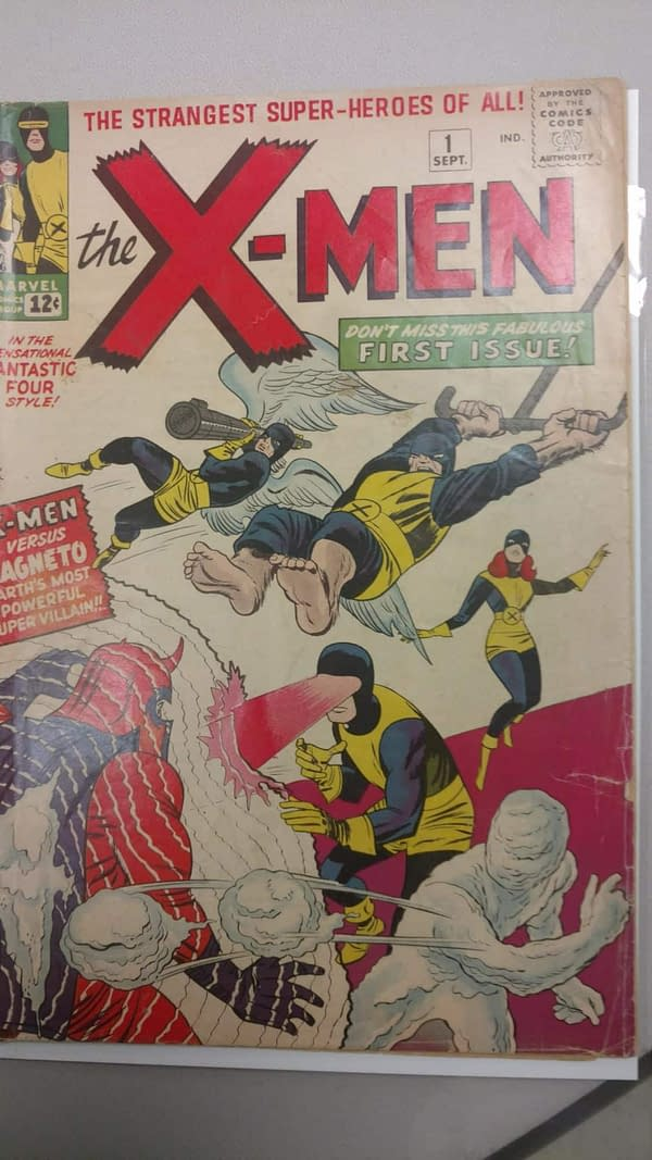 Nick Barrucci Sells X-Men #1 to Benefit Fat Jack's Comicrypt and William Messner-Loebs – If Others Will Match Him