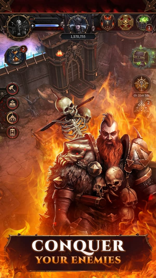 'Warhammer: Chaos & Conquest' Brings Classic Warhammer to Mobile
