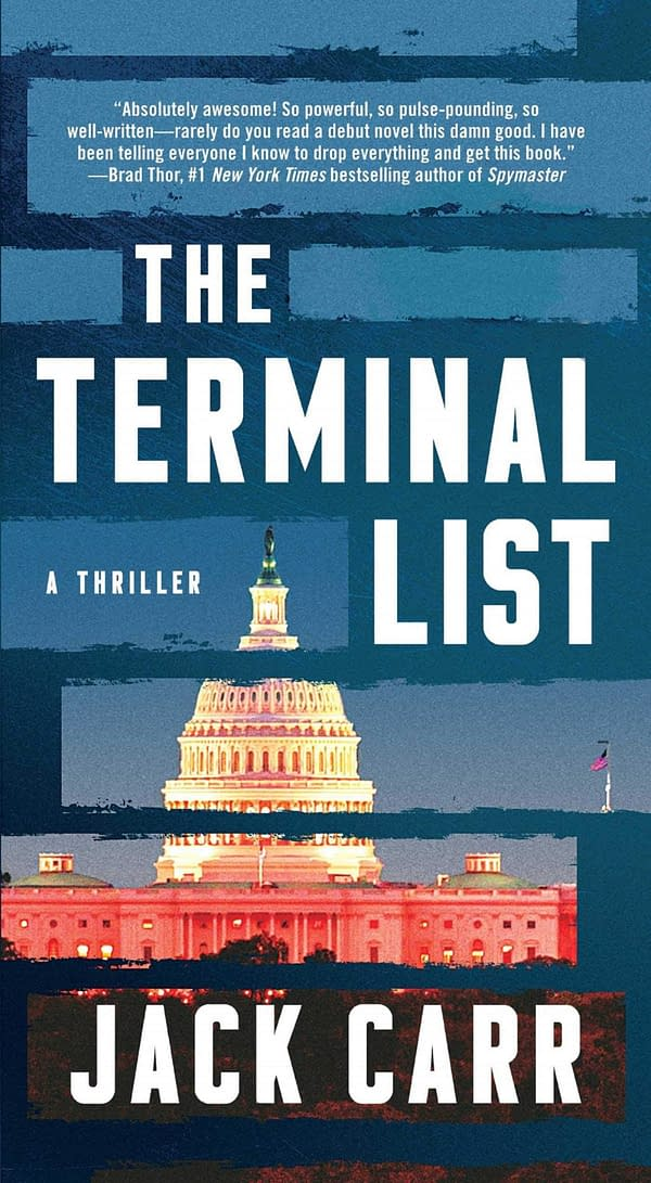 Jack Carr's The Terminal List is coming to Amazon Prime, courtesy of Atria/Emily Bestler Books.