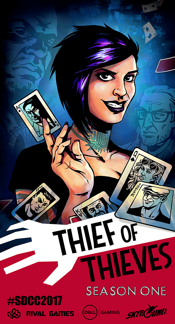 Robert Kirkman's Thief of Thieves Is Getting A Game Adaptation