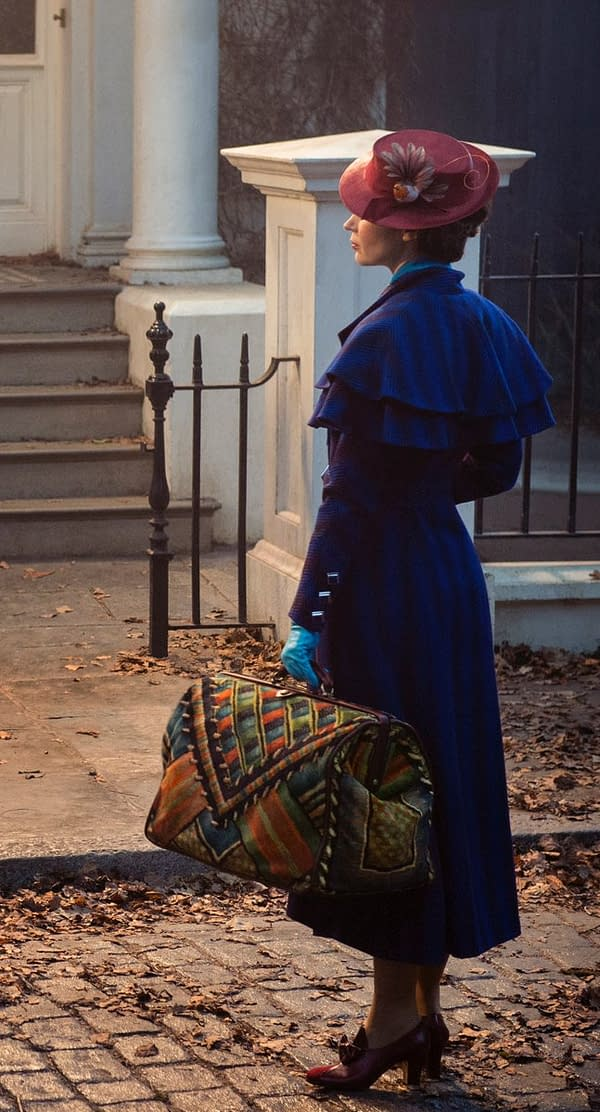 Disney Releases First Look At Mary Poppins' Bag From Mary Poppins Returns (And Also Emily Blunt As Mary Poppins)