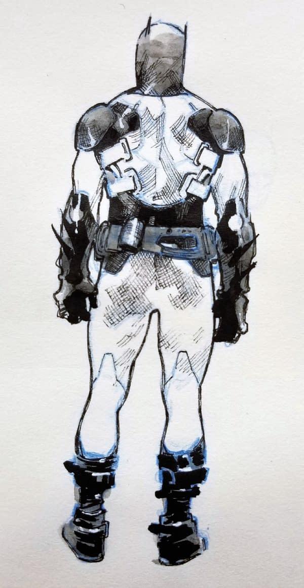 Olivier Coipel's Designs For Jace Fox As Batman