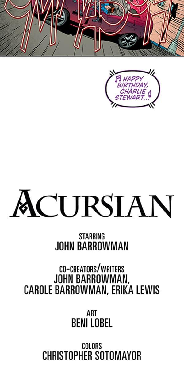 Read John & Carole Barrowman, Erika Lewis and Beni Lobel's Acursian Chapter 1 on Bleeding Cool