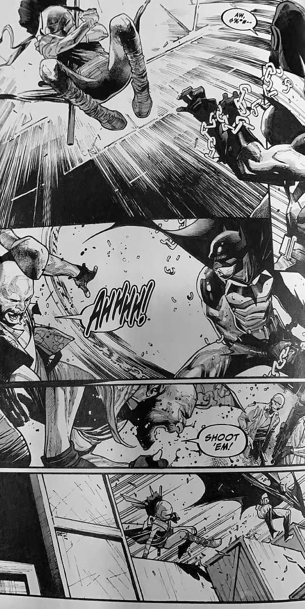 Sunday Spoilers: First Appearances In Batman: Black And White #3