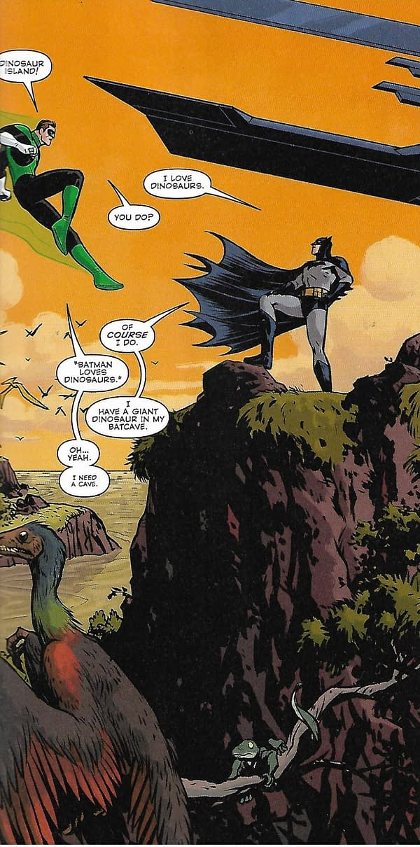 New DC Walmart Comics Out – Batman Loves Dinosaurs and Iris West Looks Like Candice Patton