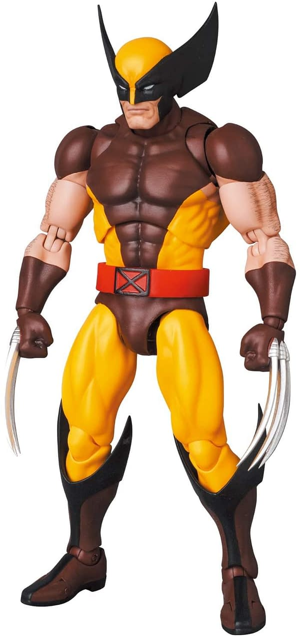 Wolverine is the Best at What He Does With MAFEX