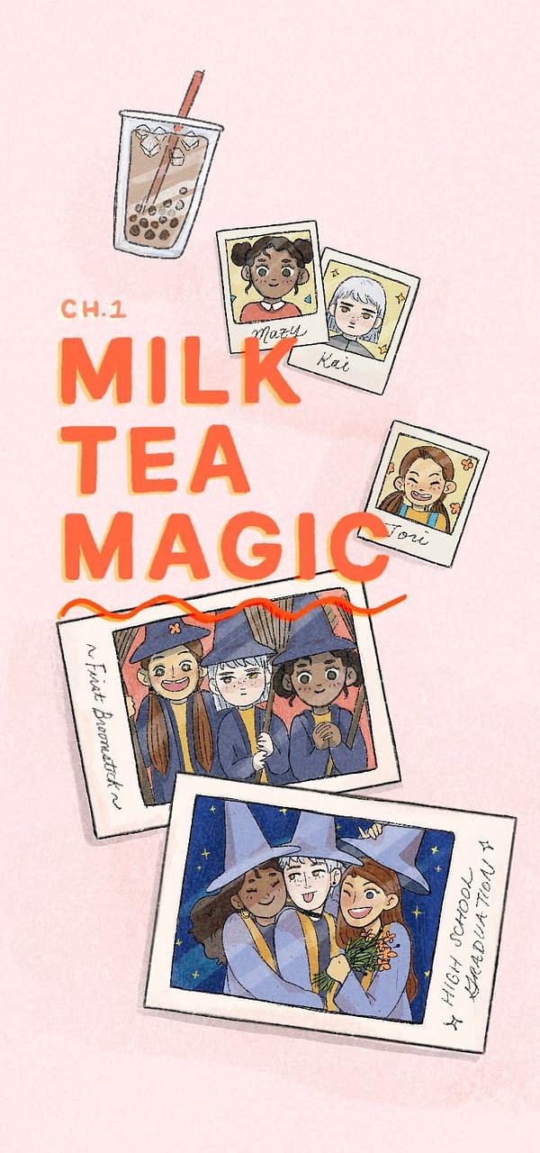 Kat Yao, Tiffany Mau and Maureen Kang have sold their new Graphic Novel, Milk Tea Magic, to Chronicle Books