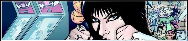 David Avallone's Writer's Commentary on Elvira: Mistress Of The Dark #11