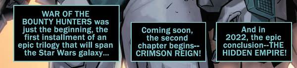 Star Wars: The Crimson Reign Begins
