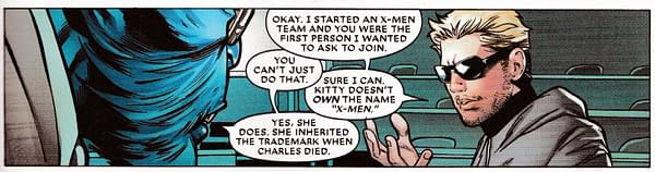 Kitty Pryde Owns the Trademark on the X-Men
