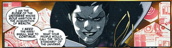 First Baby Yoda in a Marvel Comic - Empyre #0: Fantastic Four.