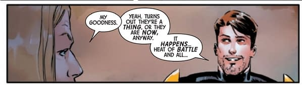 Marvel Boy and Hercules Are An Item Now - Guardians Of The Galaxy #6