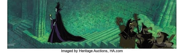 Animation Art Of Fantasia, Cinderella, And More Disney Movies Up For Auction At Heritage