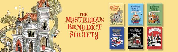 Here's a look at The Mysterious Benedict Society books, courtesy Little, Brown and Company.