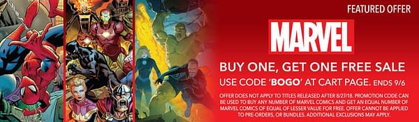 ComiXology Glitch – All Of Today's Marvel Comics Are Free