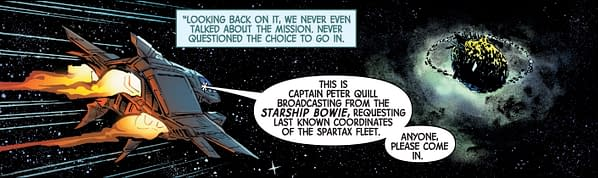 David Bowie Approves of New Guardians of the Galaxy Ship Name From Beyond Grave