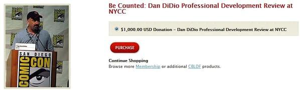 Buy Dan DiDio For A Thousand Dollars