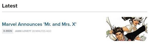 The X-Men Gold #30 Wedding Twist Was Not Marc Guggenheim's Idea (SPOILERS)