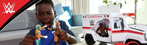 WWE Slambulance-Gate: Pearl-Clutching Mom Says Toy Inspires Violence