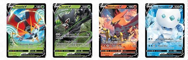 V Cards of Vivid Voltage. Credit: Pokémon TCG