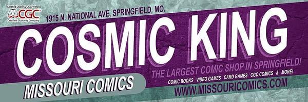 Cosmic King Comic Store of Springfield, Missouri to Close
