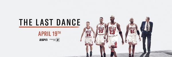 Michael Jordan and the Chicago Bulls is the subject of The Last Dance, courtesy of ESPN.