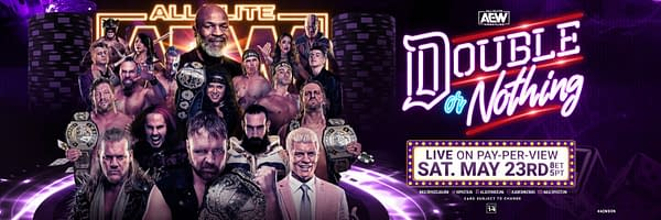 AEW Double or Nothing takes place Saturday, May 23rd on PPV