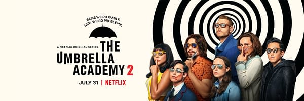 The poster for The Umbrella Academy season 2 (Image: Netflix)