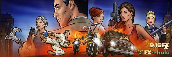 A look at Archer Season 11 key art (Image: FXX)