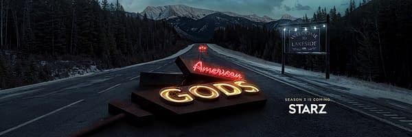 American Gods Season 3 key art (Image: Starz)