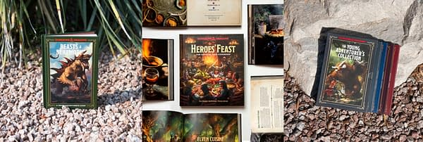 A look at all of the Dungeons & Dragons books you could win from Ten Speed Press.