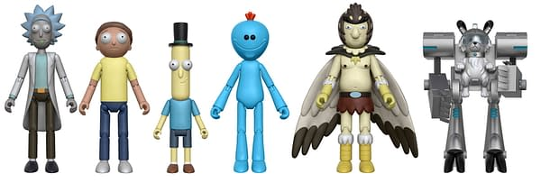 Rick and Morty Funko Action Figures