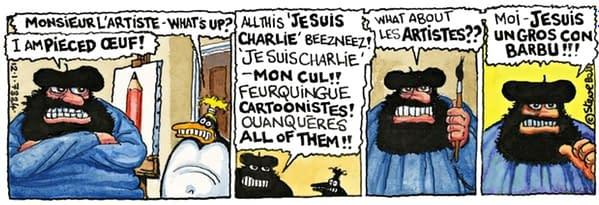 Guardian Newspaper Drops Cartoonist Steve Bell After 40 Years.