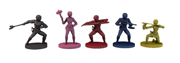 The Space Rangers, the protagonists from Power Rangers: Rise of the Psycho Rangers.