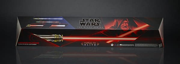 Darth Sidious Force FX Lightsaber is Coming Soon from Hasbro