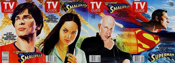 TV Guide #2451 Alex Ross Smallville Covers