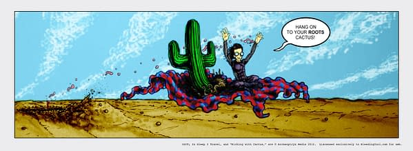 Kicking With Cactus #20 by Chad Hindahl… And The Story So Far