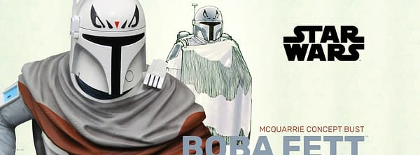 Star Wars Boba Fett Gets Concept Art SDCC Statue from Gentle Giant