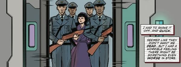 David Avallone's Writer's Commentary on Bettie Page Unbound #6 – The Look of Princess Leia