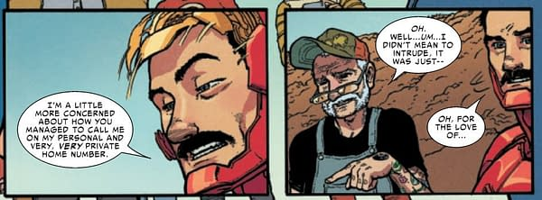 You Can Call Tony Stark, Iron Man, in Today's Thor #7 (Spoilers)