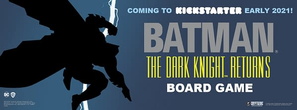 The Dark Knight Returns Is Getting A Board Game In 2021