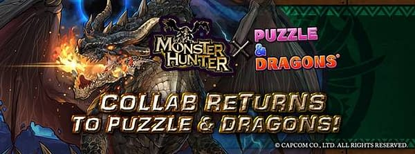 Monster Hunter Returns to Puzzles & Dragons