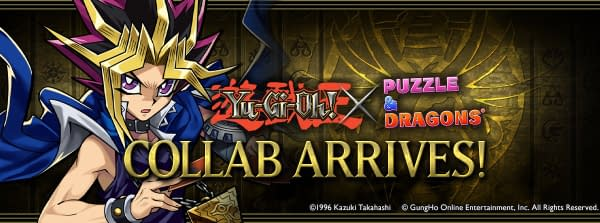 """""""Yu-Gi-Oh!"""" Duel Monsters Comes To """"Puzzle And Dragons"""""""